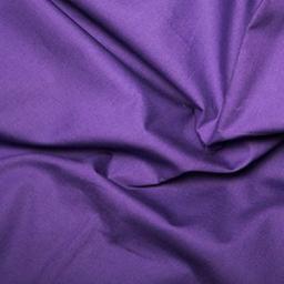 Purple cotton poplin