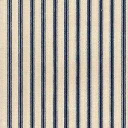 Black stripe cotton canvas ticking