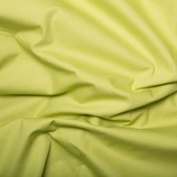 Lime green cotton poplin