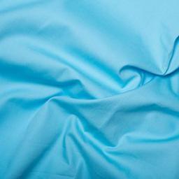 Sky blue cotton poplin