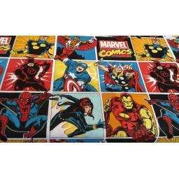 Superhero craft cotton-Marvel