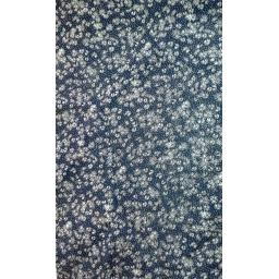 Viscose- small blue floral chiffon