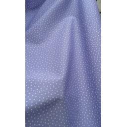 Lavendar star cotton poplin