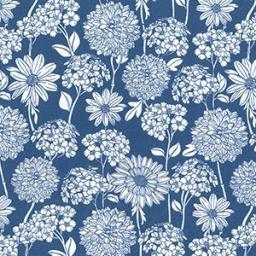 Delph Dahlia cotton poplin