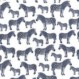 Zebra (navy) cotton poplin.jpg