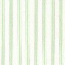 Mint stripe cotton poplin