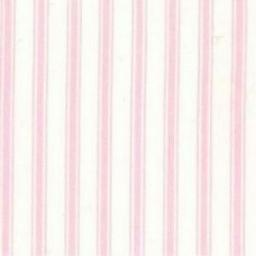 Pink stripe cotton poplin