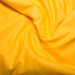 Yellow cotton poplin