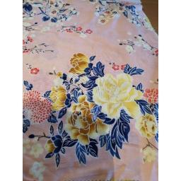 Viscose-pink floral