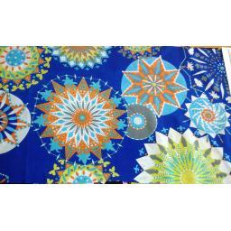 Peachskin- blue stars