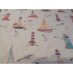 Seaside linen look canvas by Chatham Glyn