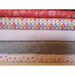 Fat Quarters -Circus craft cotton