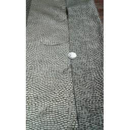 Curtain fabric metallics