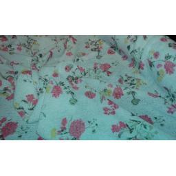 True knit floral jersey