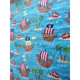 Pirates cotton fabric