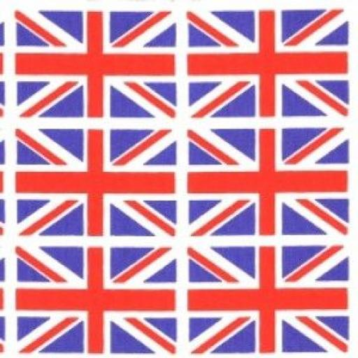 Union Flag cotton poplin