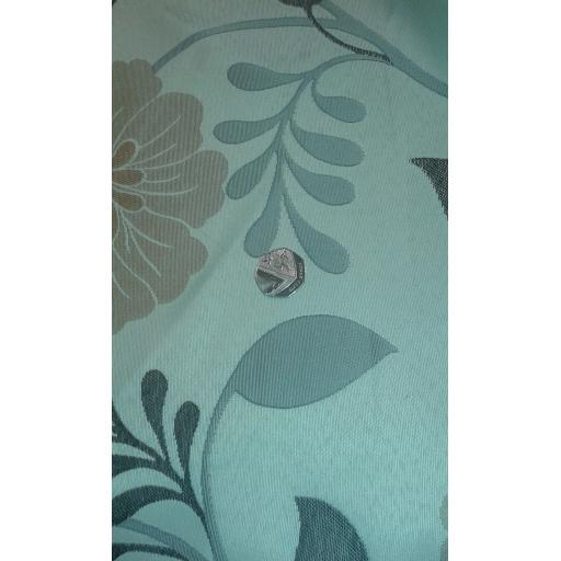Curtain fabric greens 2