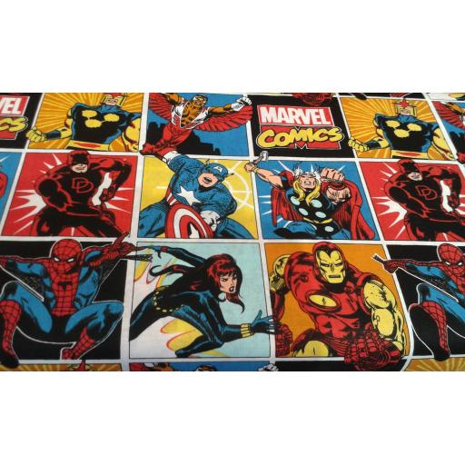 Superhero craft cotton-Marvel