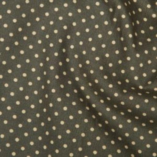 Slate Spot cotton poplin
