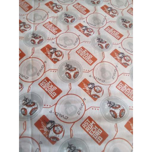 Star wars- droids cotton fabric