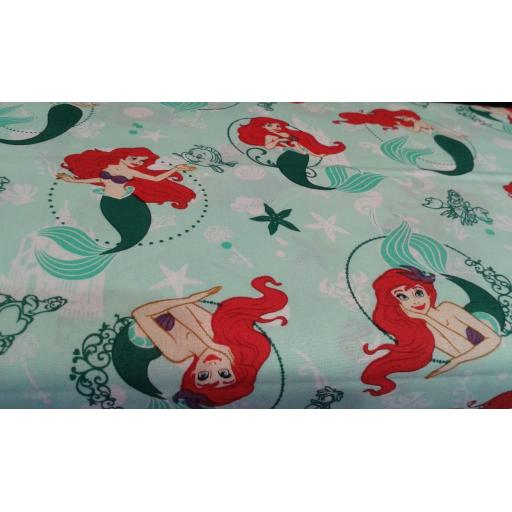 Disney's Little Mermaid Ariel craft cotton