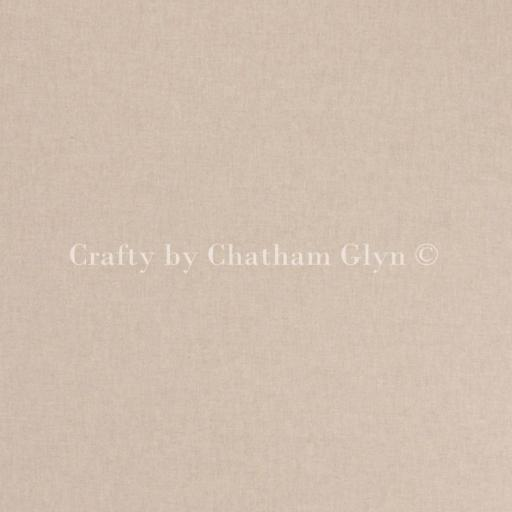 Plain linen look canvas by Chatham Glyn