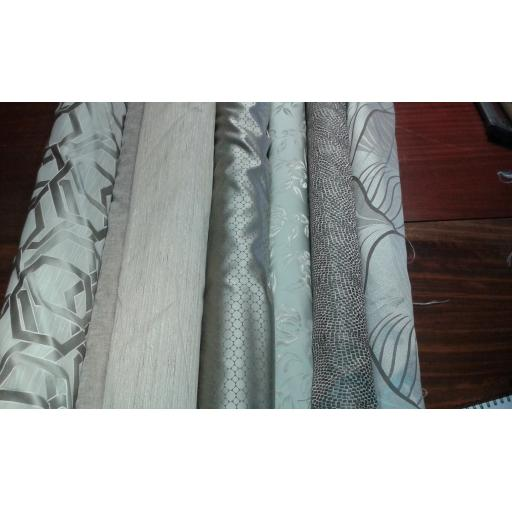 Curtain fabric metallics