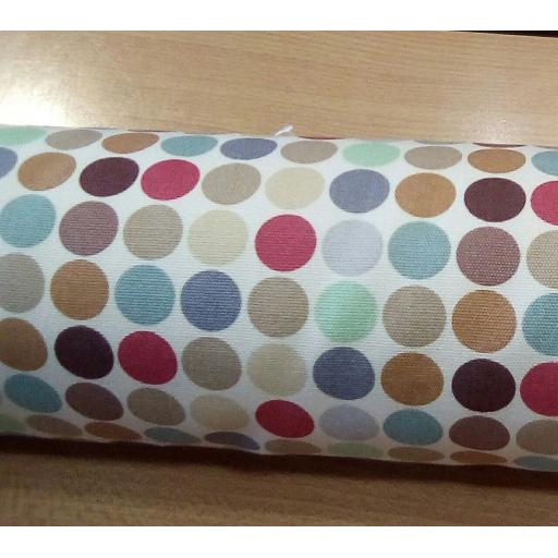 Multi spot cotton canvas