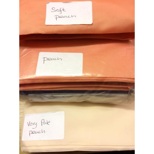 Polyester Tafetta lining- peach and neutrals
