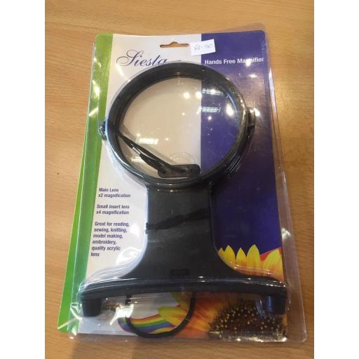 Handsfree magnifier