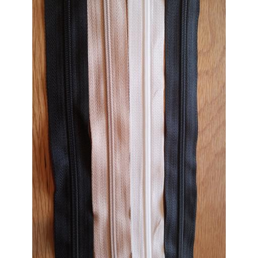 "Zips 9"" basic colours"