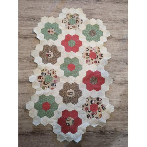 Digital Download-English Paper piecing- Basic course
