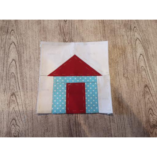 Digital Download- English Paper piecing- Boat House/Beach Hut