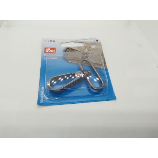Heavy metal snap hook by Prym