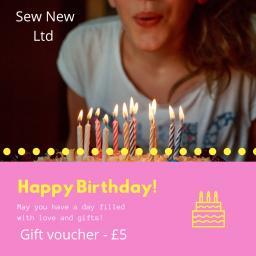 Sew New Ltd Birthday voucher £5.png