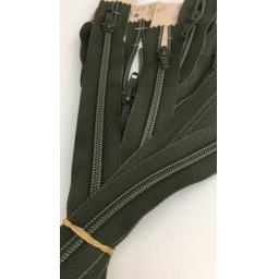 Khaki open end zip.jpg