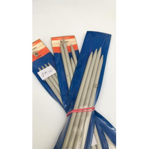 Sock needles, 4 pack of metal knitting needles