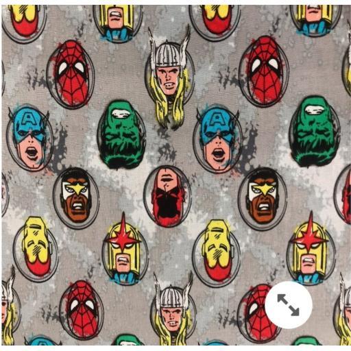 Avengers faces craft cotton-Marvel