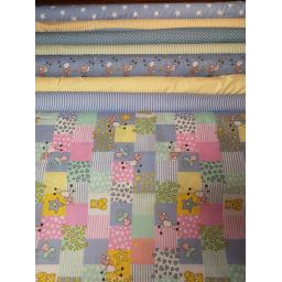 Patchwork sheep cotton fabric boys colours.jpg