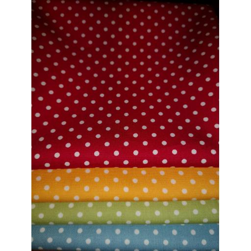 Spots cotton fat quarter set
