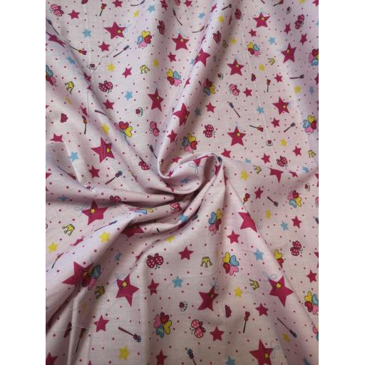 Fairytale princess cotton fabric.jpg