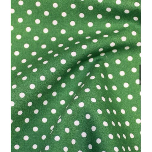 Emerald Spot cotton poplin