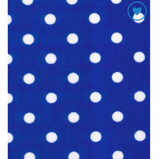 Royal large Spot cotton poplin