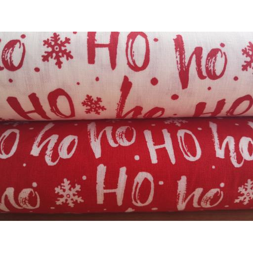 Christmas poplin fat quarters