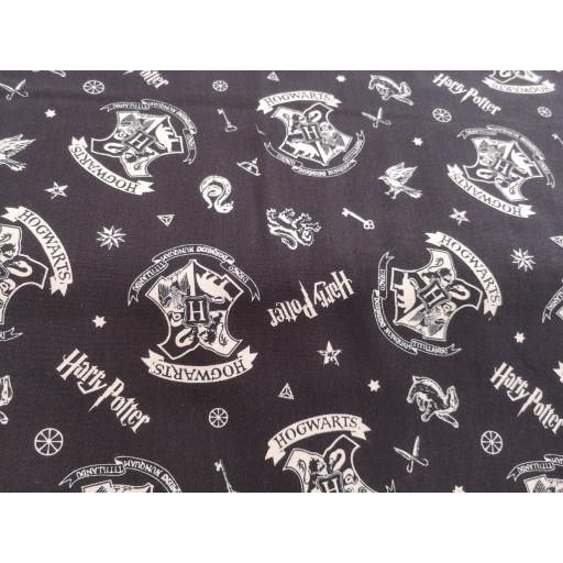 Harry Potter cotton fabric - hogwarts