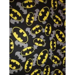 Batman, small bats on black background with grey outline .jpg