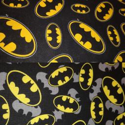 Batman, small and large bats on black background.jpg