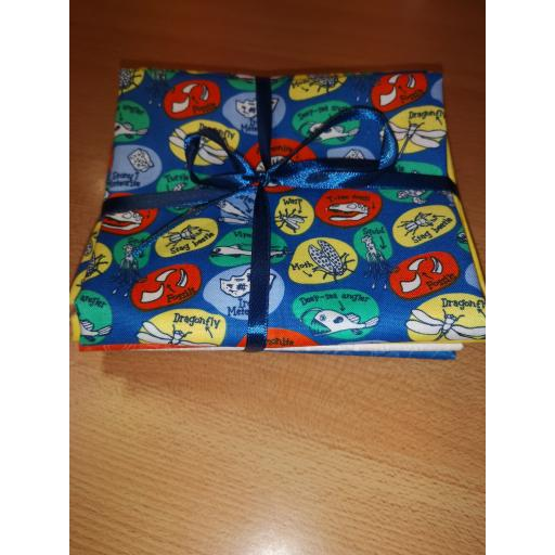 Scientist cotton fat quarter set
