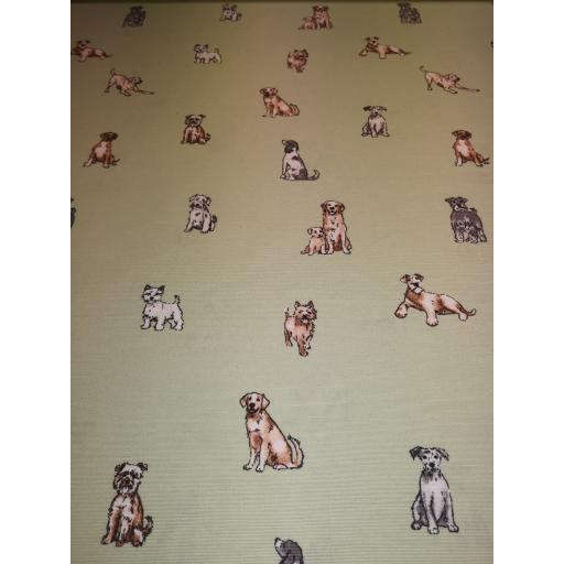 Dashing dogs canvas by Chatham Glyn