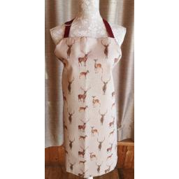 Stags and deer Adults apron.jpg